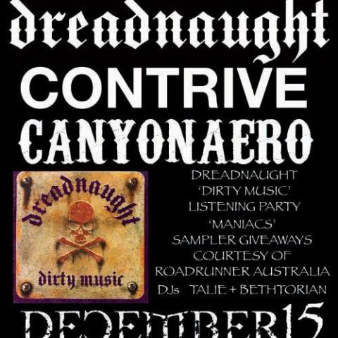 Event Management: Hammerheart: Dreadnaught, Contrive & Canyonaero