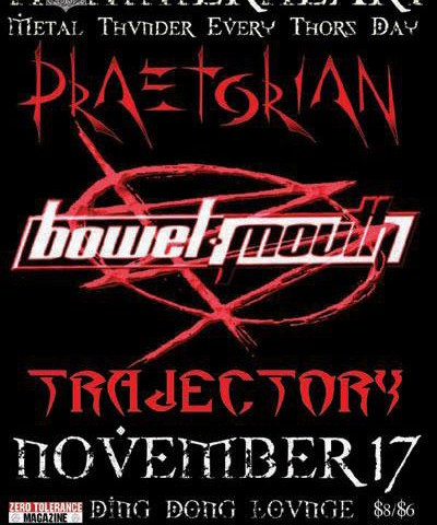 Hammerheart: Praetorian, Bowelmouth, & Trajectory